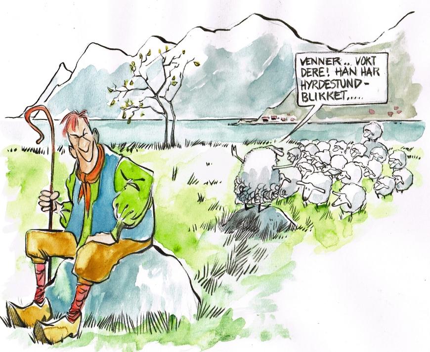 Original illustration by Ole Johnny Hansen for afroginthefjord.com
